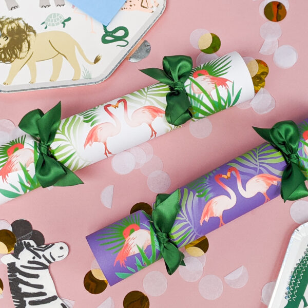 The Handmade Cracker Company Flamingo