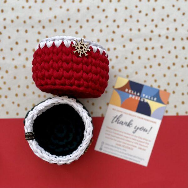 Lifestyle, Home decor, Christmas Gifts crochet pot